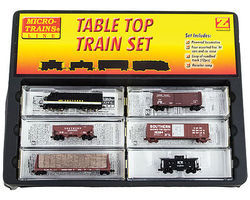 Micro-Trains Freight Train-Only Set w/ EMD F7 & Track Southern Railway Z Scale Model Train Set #99403931