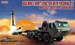 Model-Collect US Army M983 HEMTT Tractor Plastic Model Military Vehicle 1/72 #72077