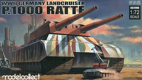 Model-Collect 1/72 WWII German P1000 Ratte Landcruiser