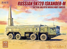 Model-Collect 1/72 Russian 9K720 Iskander-M Tactical Ballistic Missile MZKT Chassis