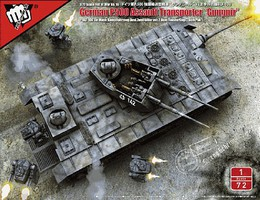 Model-Collect 1/72 Fist of War WWII German P500 Assualt Transporter Gungnir Tank (New Tool)