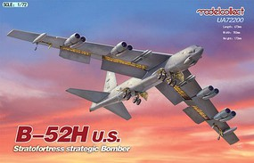 Model-Collect 1/72 USAF B52H Stratofortress Strategic Bomber (New Tool)