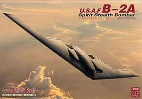 Model-Collect B2A US Spirit Stealth Bomber (New Tool) Plastic Model Airplane Kit 1/72 Scale #72201