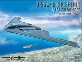 Model-Collect 1/72 USAF B2A Spirit Stealth Bomber w/Mop GBU57