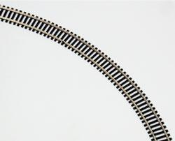 Model Power Ho 36'NS FLEX TRACK Blk Ties