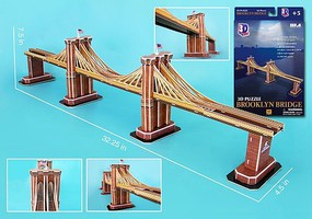 Model-Power Brooklyn Bridge 3d Puz (35)