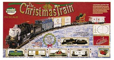 Model Power Christmas Train Set - HO-Scale