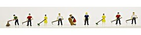 Model-Power Farm Action People (9) N Scale Model Railroad Figure #1342