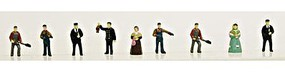Model-Power Steam Era People (9) N Scale Model Railroad Figure #1343