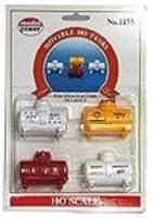 Model-Power 3,500-Gallon Tanks HO Scale Model Railroad Figure #1455