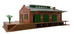 Model-Power Freight Depot Kit N Scale Model Railroad Building #1519