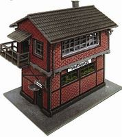 Model-Power Yard Tower Kit N Scale Model Railroad Building #1585