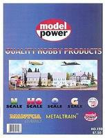 Model-Power Catalog Model Railroading Catalog #159