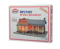 Model-Power Mas Place Kit HO Scale Model Railroad Building #190