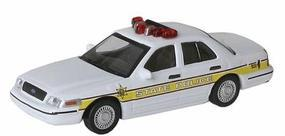 Model-Power 1/87 05 Crown Victoria IL State Police HO