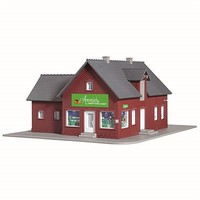Model-Power Annies Country Store/Bakery Kit HO Scale Model Railroad Building #208