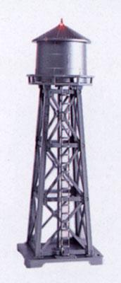 Model-Power Water Tower Lighted Built-Up N Scale Model Railroad Operating Accessory #2630