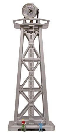 Model-Power Search Tower Lighted B/U N Scale Model Railroad Operating Accessory #2631