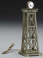Model-Power US Army Searchlight Tower Lighted N Scale Model Railroad Operating Accessory #2681