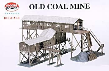 Model Power Old Coal Mine -- Kit - HO-Scale
