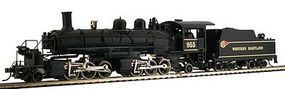 Model-Power 2-6-6-2 Articulated Loco Western Maryland HO Scale Model Train Steam Locomotive #345002