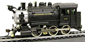 Model-Power 0-6-0 Tank Switcher Baltimore & Ohio #54 HO Scale Model Train Steam Locomotive #393002