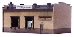 Model-Power Interstate Freight Terminal Kit HO Scale Model Railroad Building #411