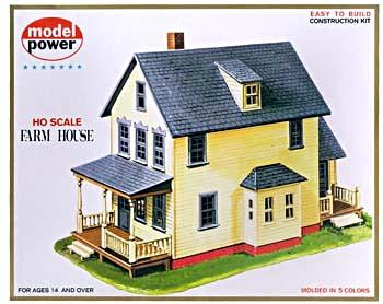 Model Power Farm House Kit HO