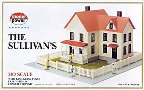 Model-Power The Sullivans House Kit HO Scale Model Railroad Building #488