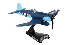 Model-Power F4U Corsair Pappy Boyington 86 Diecast Model Airplane #5356-3