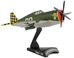Model-Power P-47 Thunderbolt Big Stud Diecast Model Airplane 1/100 Scale #5359-2