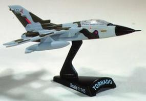Model-Power Tornado HO Diecast Model Airplane 1/145 Scale #5380
