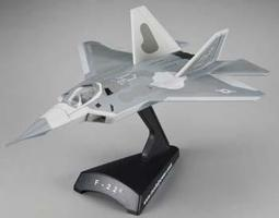 Model-Power F-22 Diecast Model Airplane 1/145 Scale #5382-1