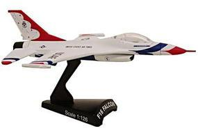Model-Power F-16 Falcon Thunderbird HO Diecast Model Airplane 1/126 Scale #5399-2