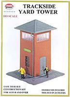 Model-Power Trackside Yard Tower Kit HO Scale Model Railroad Building #551