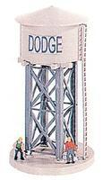 Model-Power Industrial Water Tower Kit HO Scale Model Railroad Building #552