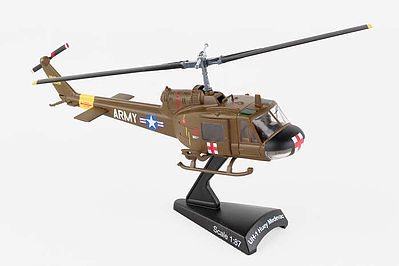 Model Power MEDIVAC UH-1 HUEY US ARMY 1-87