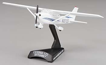 Model Power Cessna 172 Skyhawk N2008S -- Diecast Model Airplane -- 1/87 Scale -- #5603-2