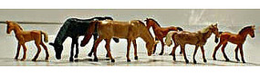 Model-Power Horses HO Scale Model Railroad Figure #5776