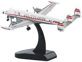 Model-Power TWA Super Constellation L 1049G Diecast Model Airplane 1/300 scale #5806-1