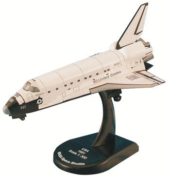 Model Power NASA Space Shuttle Endeavour -- Diecast Space Shuttle Program -- 1/300 scale -- #5823