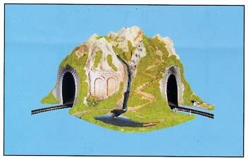 Model Power CURVED TUNNEL -- O Scale Model Railroad Tunnel -- #6091
