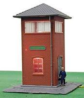 Model-Power Trackside Yard Tower Built-Up HO Scale Model Railroad Building #627