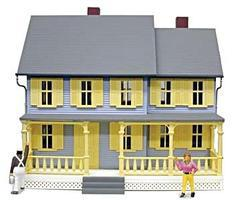 Model-Power Jordans House Built-Up O Scale Model Railroad Building #6357