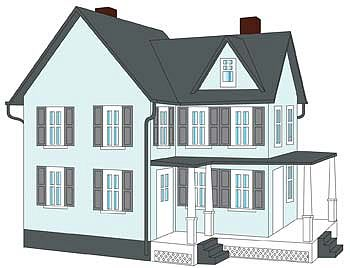 how to build a scale model house