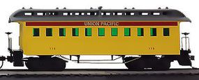 Model-Power 1890 Wooden-Type Coach Union Pacific HO Scale Model Train Passenger Car #715100