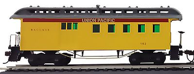 Model Power 1890 Wooden-Type Combine Union Pacific -- HO Scale Model Train Passenger Car -- #715110