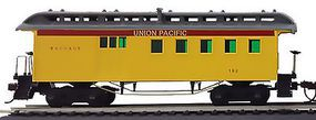 1890 Wooden-Type Combine Union Pacific HO Scale Model Train Passenger Car #715110