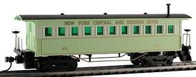 Model-Power 1860 Wooden-Type Coach New York Central & Hudson HO Scale Model Train Passenger #717100