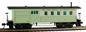 Model-Power 1860 Wooden-Type Combine New York Central & Hudson HO Scale Model Train Passeng #717110